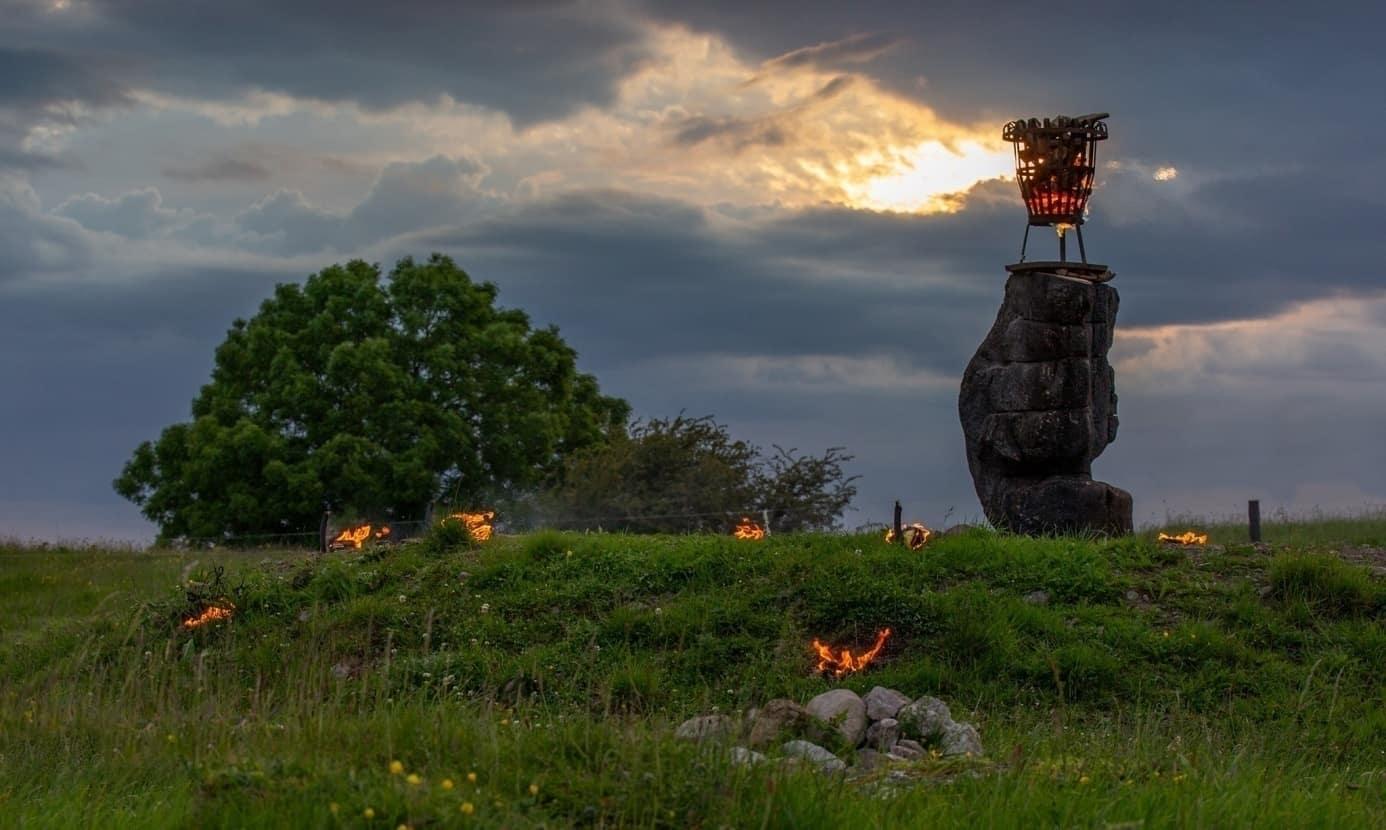 Sommersonnenwende Hill of Uisneach